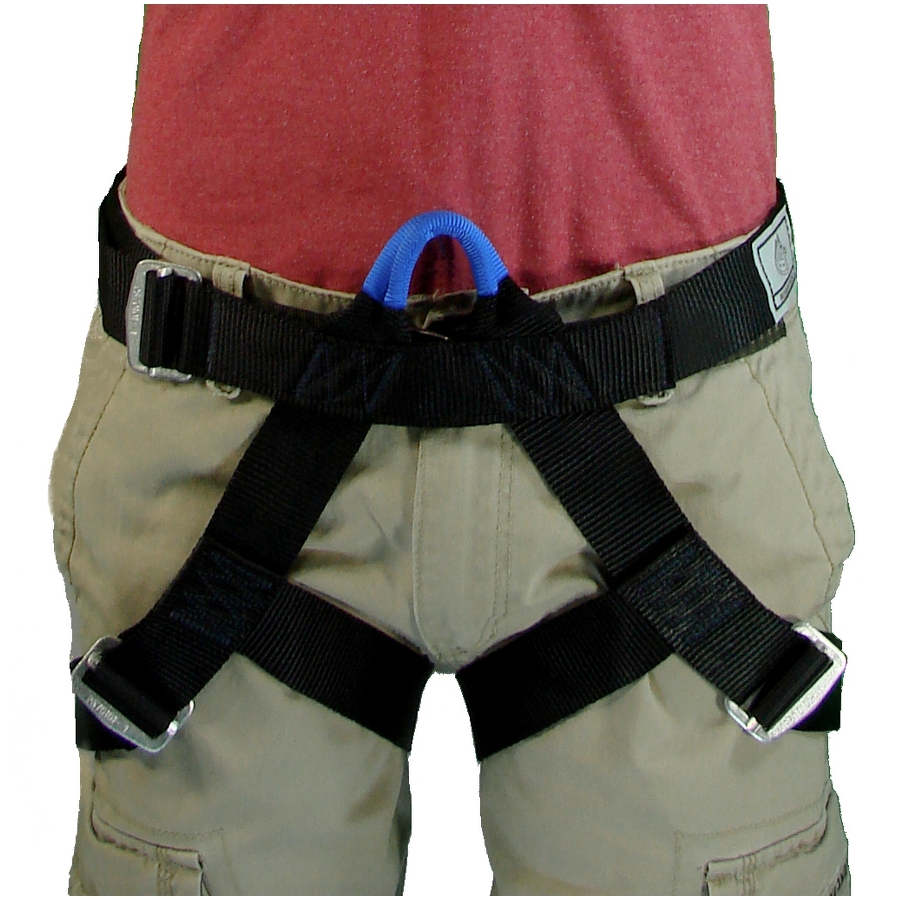 Gh101 Guide Harness   Small    Red Belay    U2013 Robertson Harness
