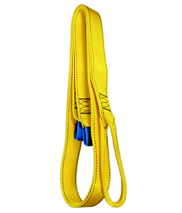 5 ft lobster claw yellow with girth hitch